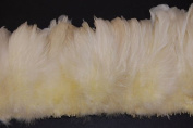 7.6cm Coque Feather Fringe 10cm - 15cm Dyed IVORY