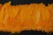 7.6cm Coque Feather Fringe 10cm - 15cm Dyed GOLD