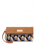 Spartina 449 Bateau Blue Convertible Clutch