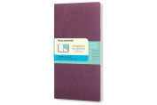 Moleskine Chapters Journal, Slim Pocket, Dotted, Plum Purple, Soft Cover