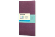 Moleskine Chapters Journal, Slim Large, Dotted, Plum Purple, Soft Cover