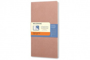 Moleskine Chapters Journal, Slim Pocket, Ruled, Old Rose, Soft Cover