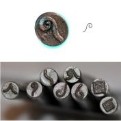 BIJ-881-2, KENT Precision Design Metal Punch Stamp, 5.0mm, Fancy Border 1, Sold Individually