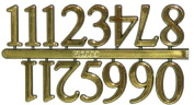 Set of 12 Arabic Numerals