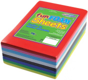 "Foam Sheets 1.5mm 4""X6"" 30/Pkg-Primary Assortment"