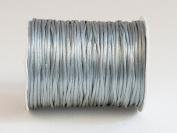 GREY 1mm Bugtail Satin Cord Shamballa Macrame Beading Nylon Kumihimo String