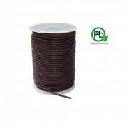 Round Leather Cord Brown 1.5mm 25meters