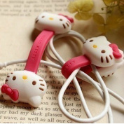JK New Cute Disney Cartoon Style Cable Tie Cord Organiser Earphone Wrap Winder/ Fixer Holder/cord Manager/cable Winder