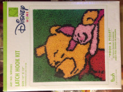 Caron International Pooh & Piglet Latch Hook Kit