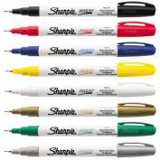 Sharpie Paint Marker Kit Oil Based EX FINE Point 8 Colours