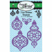 Paper Artist Cutting Die-Three Lacy Ornaments