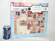 STEP BY STEP COLORBOK SCRAPBOOK VICTORIA SCRAP BOOK KIT ALBUM 30cm IN X 30cm