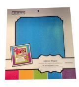 Colorbok 30cm X 30cm Glitter Paper Pack- Bright