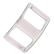 Nickel Plated 2.5cm Conway Buckle 1536-00 by Stecksstore