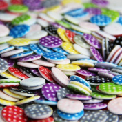 Pack of Random MIxed Assorted 50 pcs Buttons