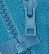 30cm Vislon Zipper ~ YKK #5 Moulded Plastic ~ Separating - 907 Peacock Blue