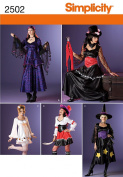 Simplicity Sewing Pattern 2502 Misses Costumes, K5