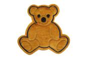 Altotux 17cm x 17cm Cute Brown Furry Fuzzy Teddy Bear Sew On Applique Motif Patch