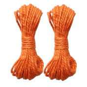 LWR Crafts Jute Rope 3mm 14m Per Pack (Pack of 2)