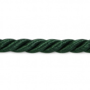 Expo International 20-Yard Wanda Twisted Cord Trim Embellishment, 0.3cm , Hunter Green