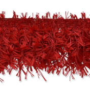 Expo International Hairy Gimp Fringe Trim, 10-Yard, Red