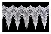 Altotux 15cm White Venice Lace Ribbon Trim By Yard