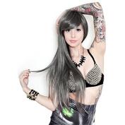 Genuine RockStar Wigs® Ombre Alexa Silver Pewter Fade Cosplay Wig