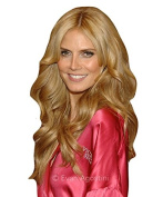 (NEW) REAL LOOK HAIR EXTENSION SOFT HONEY BLOND WAVY 60cm X LONG