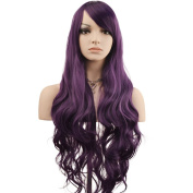 """YOPO 32"""" 80cm Long Curly Wavy Cosplay Costume Wig Fashion Party Wig"""