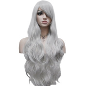 "YOPO 32"" 80cm Long Curly Wavy Cosplay Costume Wig Fashion Party Wig"