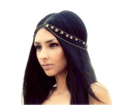 Lowpricenice(TM) Retro Mysterious Fashion Metal Head Chain Jewellery Chain Headband Head Piece Hair Band