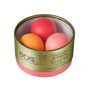 EOS Limited Edition Lip Balm Trio Rachel Roy Edition - Pink Grapefruit - Strawberry Kiwi - Orange Blossom - 5ml each