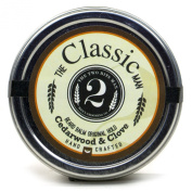 The Classic Man Beard Balm- Cedarwood and Clove - Essential Oil Scented Beard Conditioner and Styling Balm by The 2Bits Man