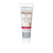 Andalou Naturals - 1000 Roses Moisturising Colour + Correct Sheer Tan 30 SPF - 60ml