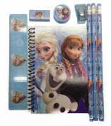 Disney Frozen Queen Elsa and Princess Anna Stationary Kit - Baby Blue