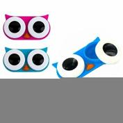 Owl Contact Lens Case, Colour Send in Random