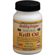 Healthy Origins 1352368 Krill Oil 500 mg 60 Softgels