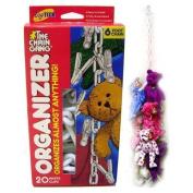 Original Chain Gang Toy Organiser - White