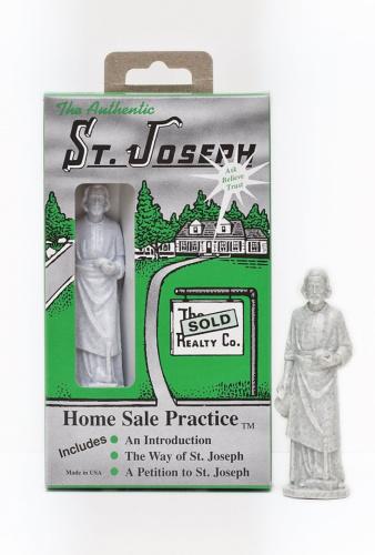st joseph statue home sale practise kit real estate shipping is free ebay. Black Bedroom Furniture Sets. Home Design Ideas