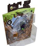 Minecraft Collectible Figures Wolf, Enderman & Snow Golem 3-Pack, Series 1