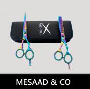 "Professional Hair Cutting & Thinning Scissors Barber Shears Hairdresser Set 6"""
