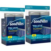GoodNites* TruFit* Bedwetting Underwear for Boys, Starter Pack