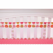 Disney Baby Bedding Minnie Mouse's Petal Perfect Secure-Me Crib Liner