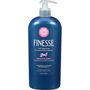Finesse Self Adjusting, 5.1cm , 1 Moisturising Shampoo & Conditioner, 710ml