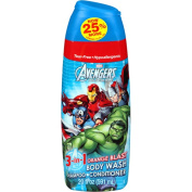 Marvel Avengers Assemble Orange Blast 3 in 1 Body Wash, Shampoo & Conditioner, 590ml