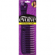 Evolve Volumizing Comb, Metallic Purple