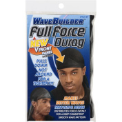 Wavebuilder Full Force Durag, Black