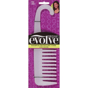 Evolve Detangling Shampoo Comb with Hanger, Pink