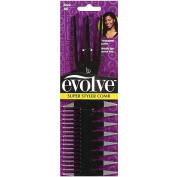 Evolve Super Styler Comb, Black