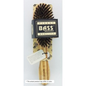 Brush - Deluxe Oval 100% Wild Boar Bristles Extra Firm Wood Handle Bass Brushes
